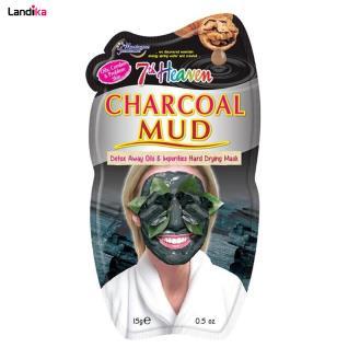 ماسک صورت مونته ژنه سری 7th Heaven مدل Charcoal Mud حجم 15 میلی لیتر