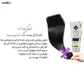 شامپو کراتینه مناسب موهای خشک وآسیب دیده آدرا مدل Keratin حجم 200 میلی لیتر