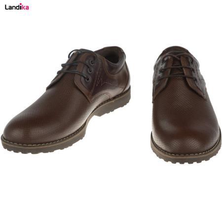 کفش چرم طبیعی مردانه مدل فراز