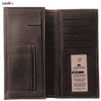 کیف پول و موبایل چرم طبیعی مدل VL15
