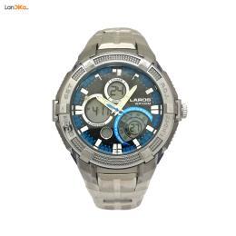 ساعت غواصی لاروس LAROS ad1101 - 1016 - دو زمانه فلزی