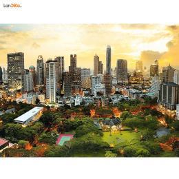 پازل 3000 تکه غروب خورشید در بانکوک Trefl