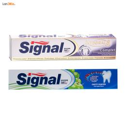 خمیر دندان سیگنال سری Integral بسته دو عددی